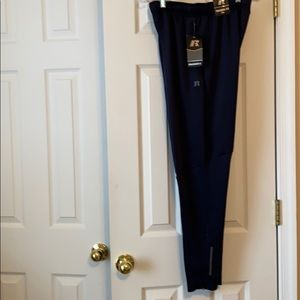 Men's tapered leg navy joggers. NWT. Size M